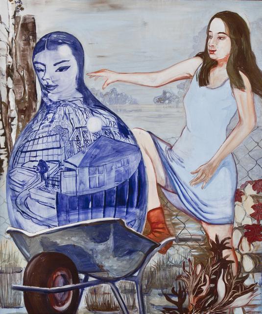 , 'Am Zaun,' 2011, Jane Lombard Gallery