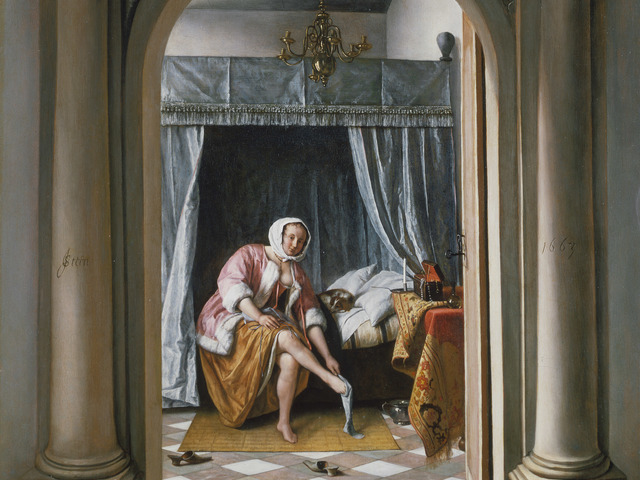 , 'A Woman at her Toilet,' 1663, Royal Collection Trust