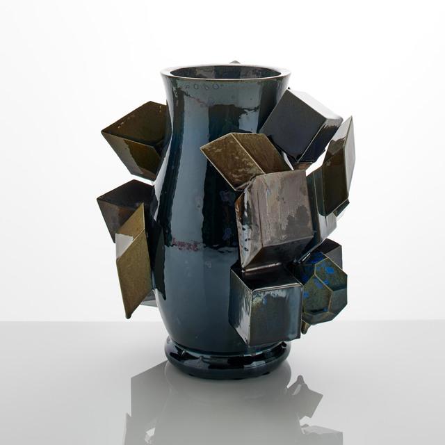 Kate Malone, 'Dark Magma Vase', 2018, Adrian Sassoon