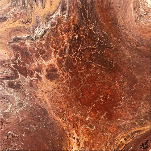 MAT, 'Brown Xperience #5', 2019, Galerie Libre Est L'Art