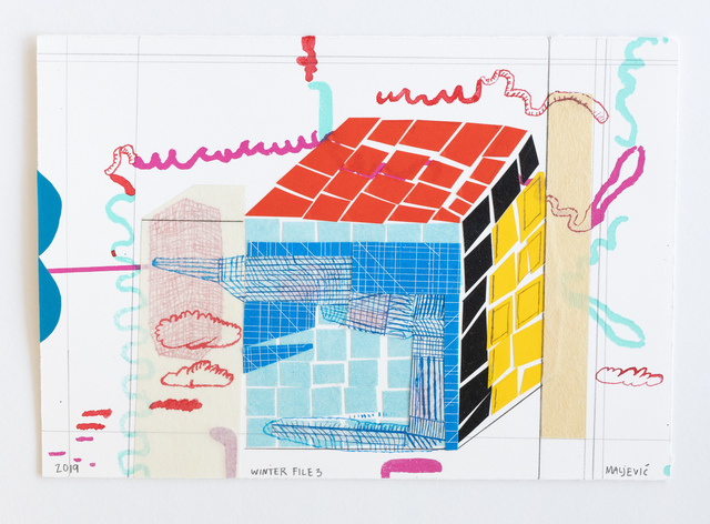 , 'Winter File 3,' 2019, David Krut Projects