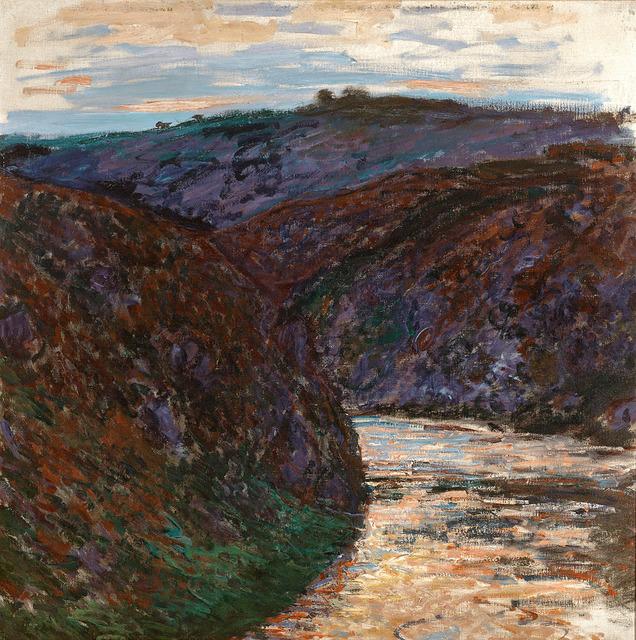 Claude Monet, 'Ravin de la Creuse', 1889,  M.S. Rau