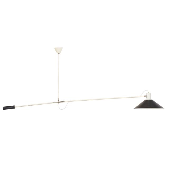 H. Fillekes, 'Adjustable Magneto Floor Lamp, Denmark', 1950s, Rago/Wright