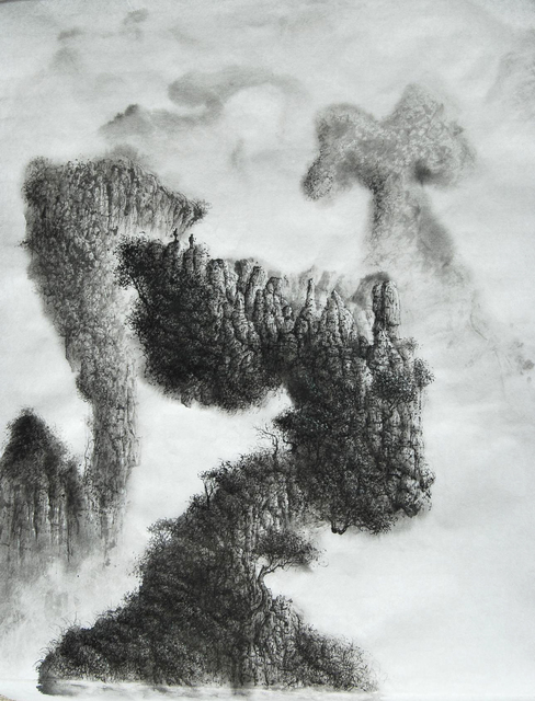 , 'Unusual Mountains,' 2016, Galerie Dumonteil