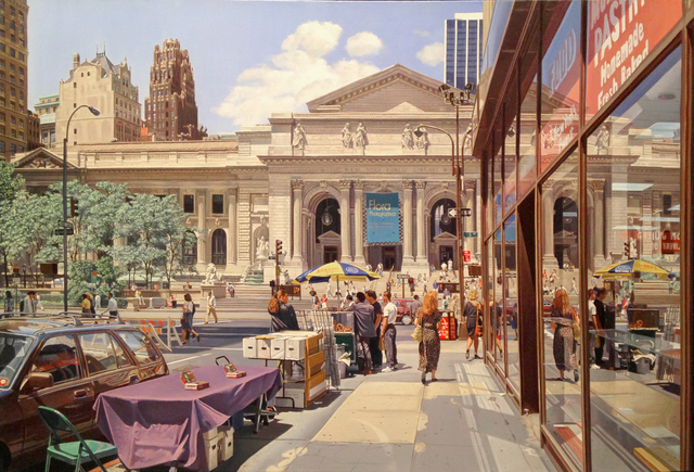 , 'Forty Second Street Library,' 2007, Bernarducci Gallery Chelsea