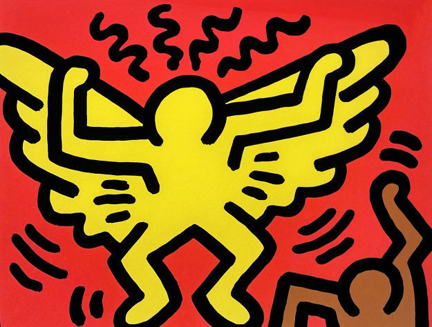 Keith Haring, 'Pop Shop IV (A)', 1989, Hamilton-Selway: Collector's Summer Preview