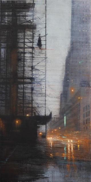 , 'Estructura bajo la lluvia,' 2017, Sala Parés