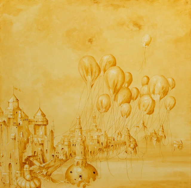 , 'L'essor de la Civilisation,' 2015, galerie bruno massa