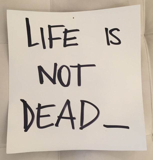 , 'Life is not Dead,' 2015, Galleria Ca' d'Oro