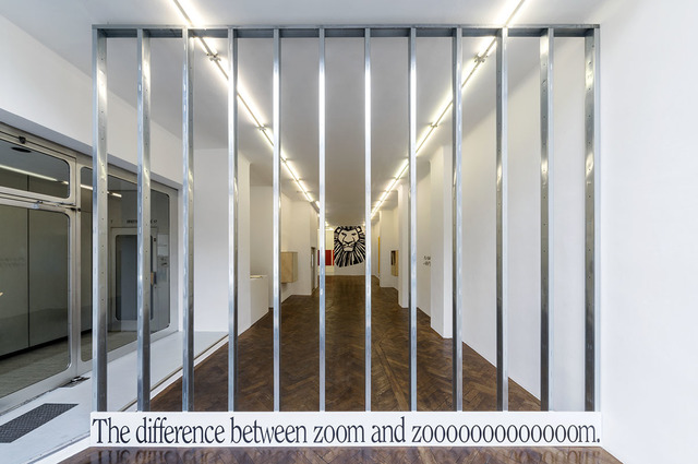 , 'Display #91 – the difference between zoom and zooooooooooooom,' 2018, Galerie Hubert Winter