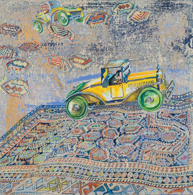 , 'Green Wheels,' 2013, RYAN LEE