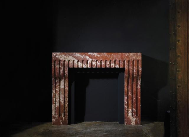 , 'Palais fireplace,' 2015, Armel Soyer