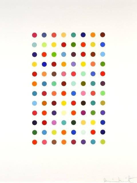 Damien Hirst, 'Xylene Cyanol Dye Solution', 2005, Vogtle Contemporary