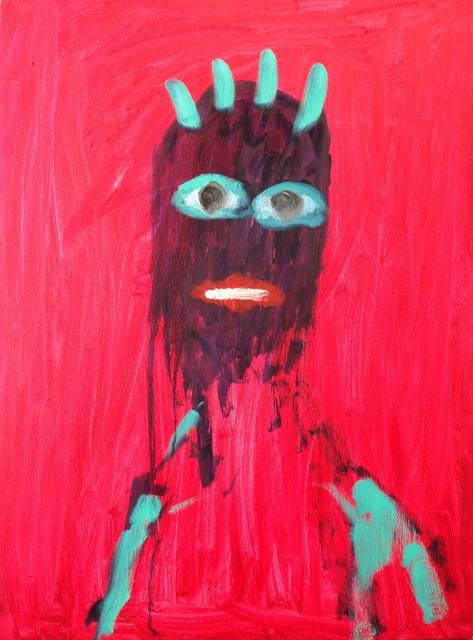 , 'Self Portrait,' 2014, Paraphé