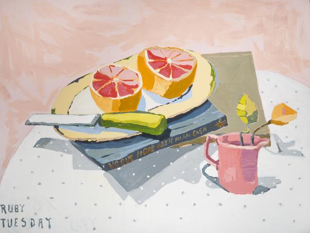 , 'Ruby Tuesday,' 2017, Piermarq