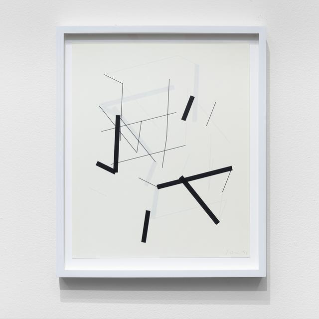 , 'P-454-D,' 2019, bitforms gallery