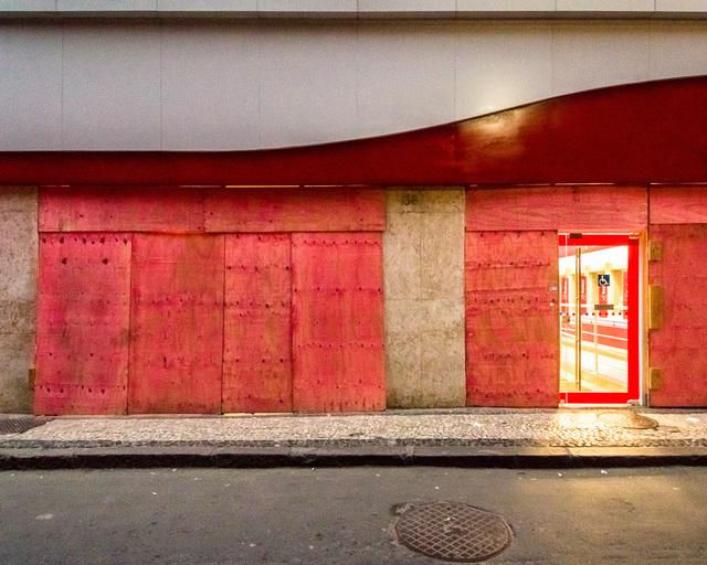 , 'Sem título #12 - da série Mitigação sem impacto (Convite à pintura) [Untitled #12 - from the series Mitigation without impact (Invitation to painting) ,' 2013, Portas Vilaseca Galeria