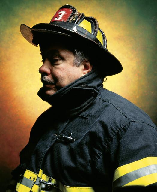 , 'Firefighter John L. Thomasian (America) //MRBAB,' 2002, Galerie Nathalie Obadia