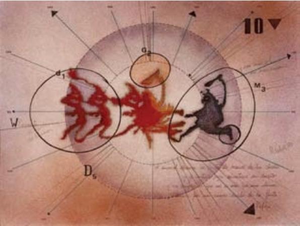 , 'Lo decía Kafka. Serie Dibujos Rorschach,' 1983, Document Art