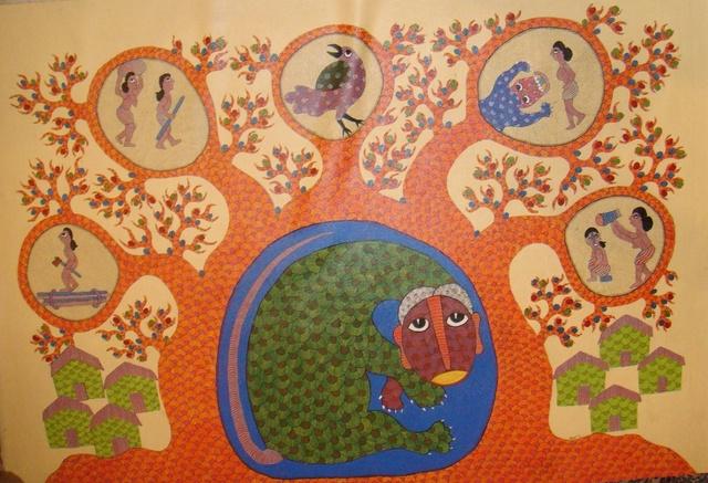 Dhavat Singh, 'Tiger Story ', 2013, Arushi Arts