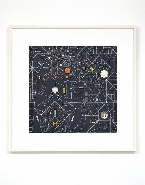 , 'Technological Mandela 116 (Transit Within Black Square),' 2017, Beers London