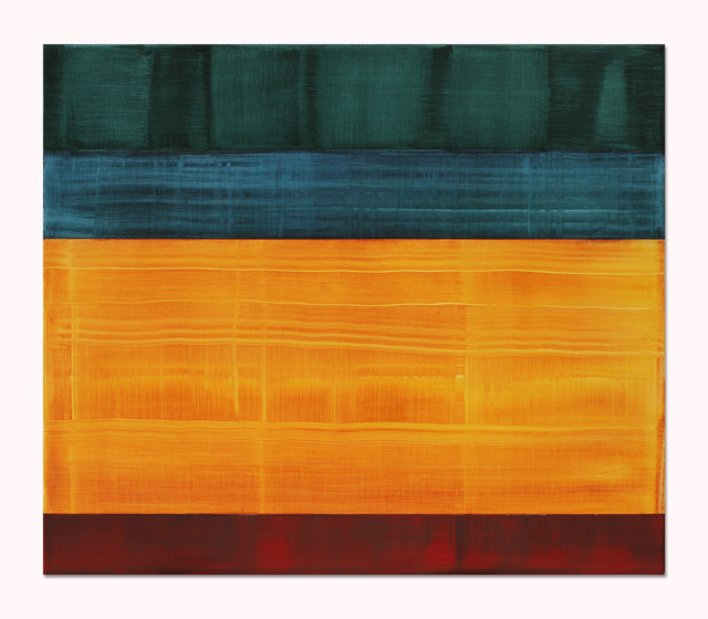 , 'Composition in Greens 4,' 2014, Sundaram Tagore Gallery