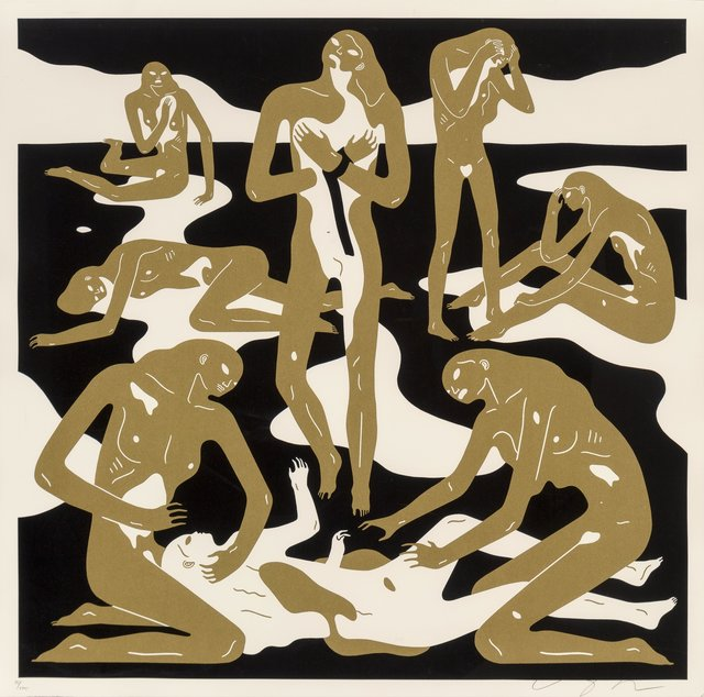 Cleon Peterson, 'Virgins (Gold)', 2017, Heritage Auctions