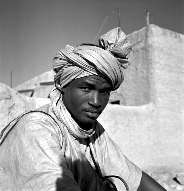 , 'Types, Atar, Mauritanie,,' 1957, Marcelo Guarnieri