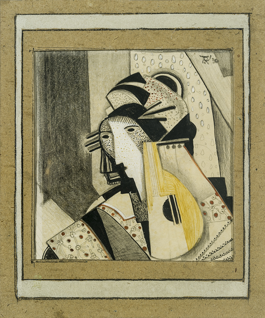 , 'Girl with Mandolin,' 1930, Hirschl & Adler Galleries