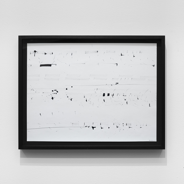 , 'Hommage a K. R. H. Sonderborg #1,' 1963, bitforms gallery