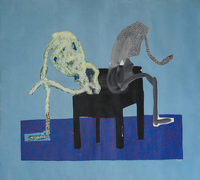 Amadou Sanogo, 'Sans tête (les fâchés)', 2016, Painting, Acrylic on canvas, Magnin-A