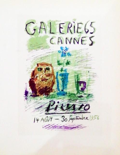 Pablo Picasso, 'Galerie 65 Cannes', 1959, Hidden
