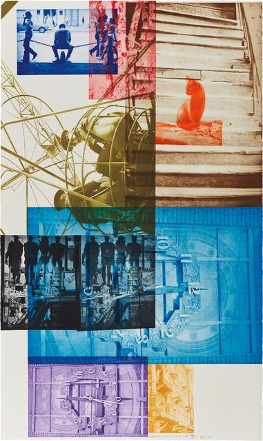 Robert Rauschenberg, 'Soviet American Array III', 1988-89, Print, Photogravure in colors, on Saunders paper, the full sheet, Phillips