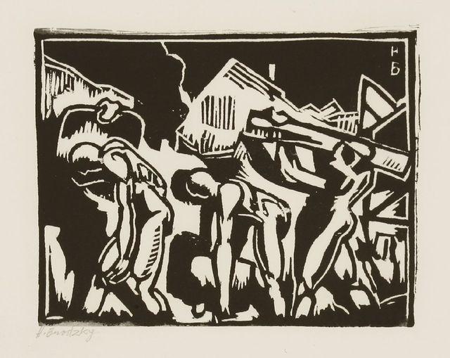 Horace Ascher Brodzky, 'Twelve Linocuts', 1989, Sworders