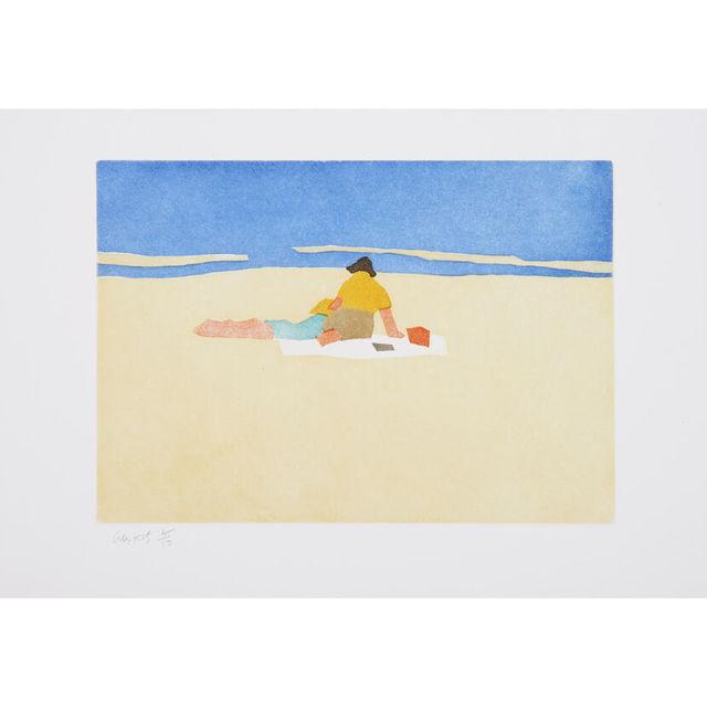 Alex Katz, 'Figures on the Beach', 2008, Artsnap