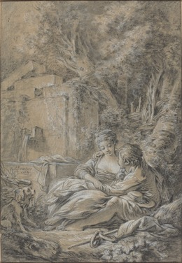 François Boucher, 'Tête-à-tête', 1764, National Gallery of Art, Washington, D.C.