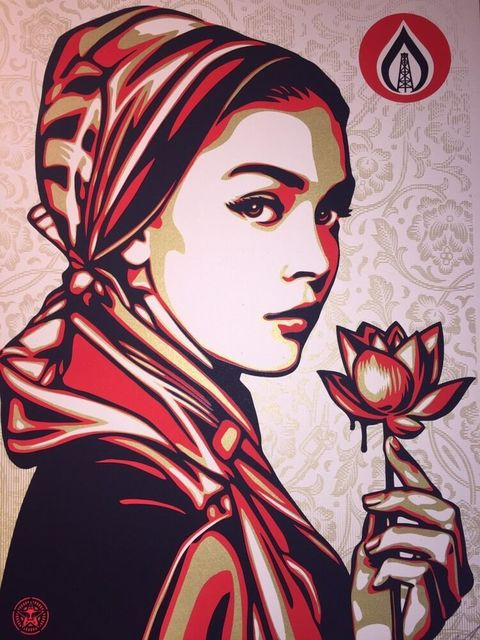 Shepard Fairey, 'Natural Springs', 2015, Print, Cream Speckletone Paper, New Union Gallery