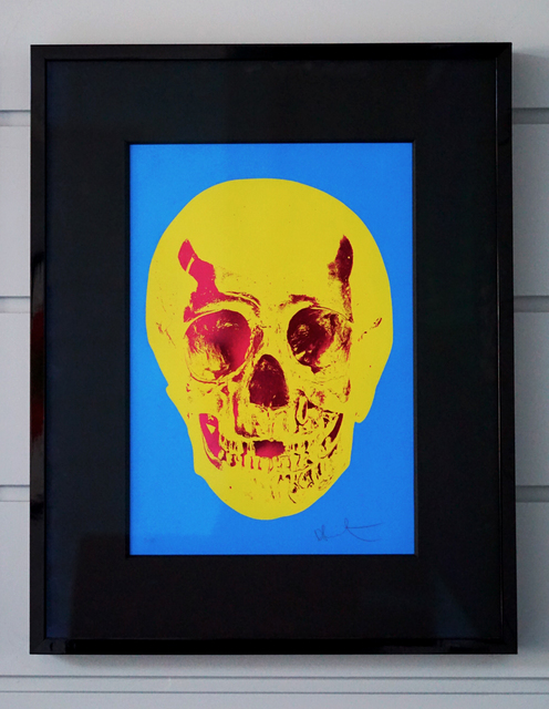 Damien Hirst, 'Skull, Yellow/Red', 2012, Arton Contemporary