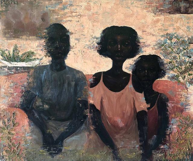 Chidinma Nnoli, 'Family Portrait', 2019, Painting, Oil on Canvas, Rele