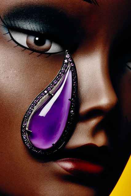 , 'Amethyst Paisley Earrings ,' , Jason Jacques Gallery