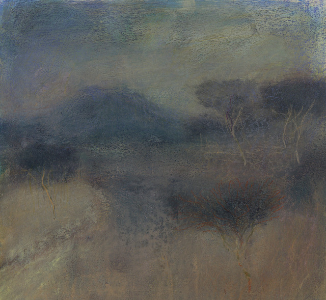 , 'Landscape L1137 - Amalfi Series, Trees on the Lower Slopes of Vesuvius II (in the Pompeian style) ,' 2018, Alan Kluckow Fine Art