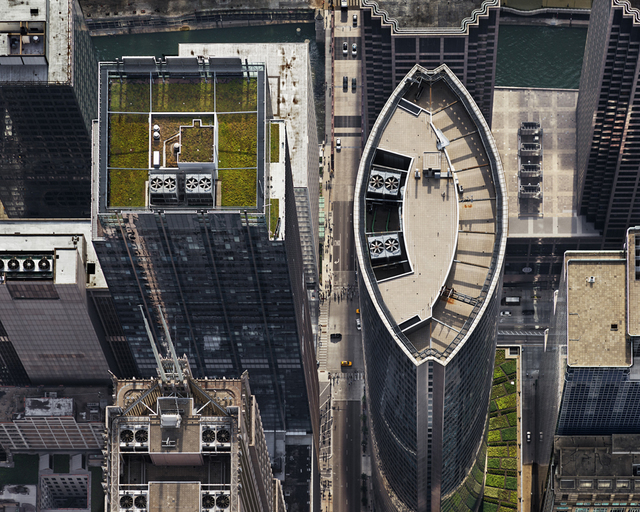 Brad Temkin, '111 S. Wacker (from above, looking west), Chicago, IL, July', 2013, PDNB Gallery