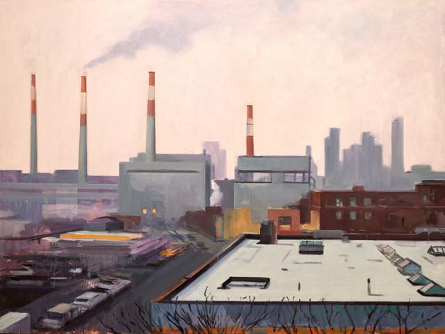 Diana Freedman-Shea, 'Big Allis, Looking West', 2016, Prince Street Gallery