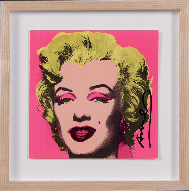 Andy Warhol, 'Marilyn Invitation (Castelli Gallery)', 1981, Print, Offset lithograph with screenprint in colors (framed), Rago/Wright