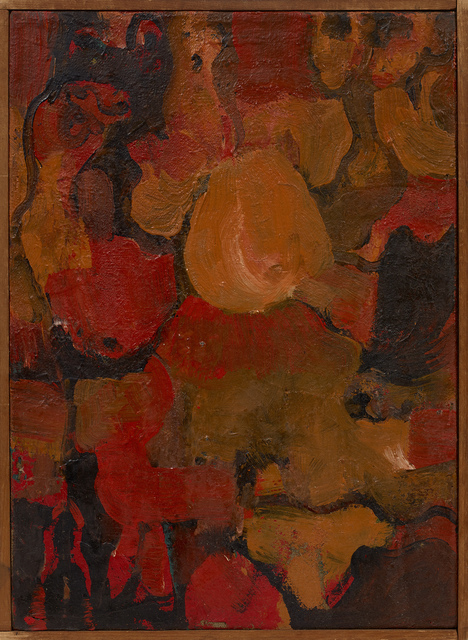 , 'Untitled ,' 1955, Berry Campbell Gallery