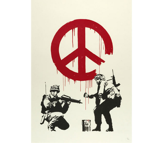 Banksy, 'CND Soldiers', 2005, Gallery TAGBOAT