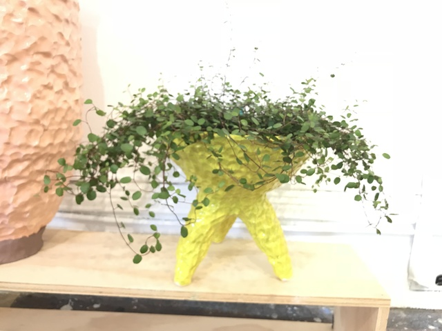 , 'Speckled Yellow Tripod Planter,' 2018, Air Mattress Gallery