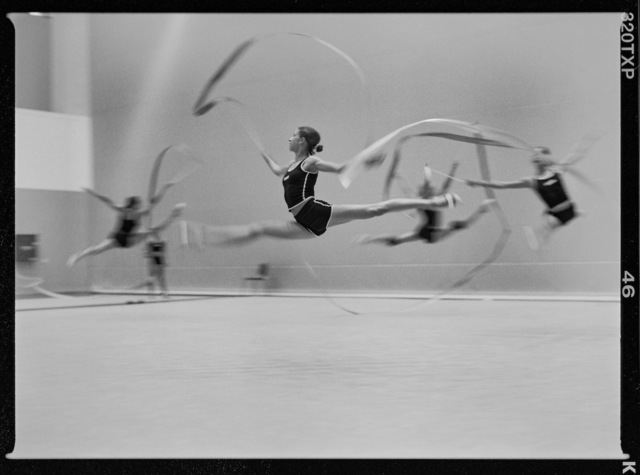 , 'Rhythmic Gymnastics. Athens, Greece.,' 2004, Anastasia Photo
