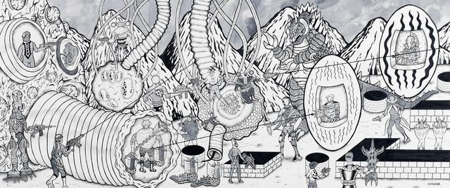 Motohiro Hayakawa, 'Battle Large 1', 2019, Coleccion SOLO