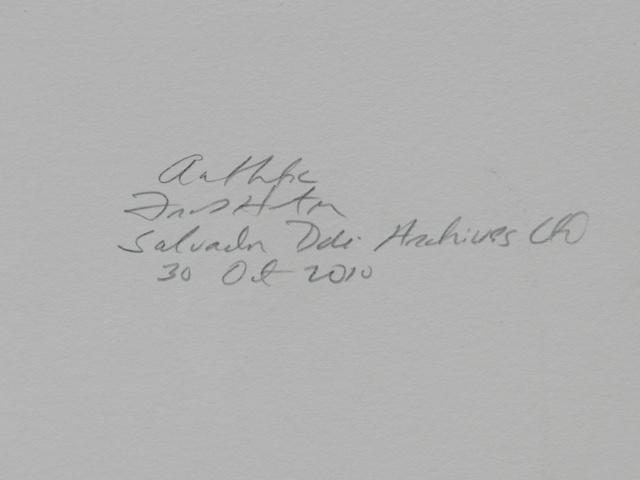 Salvador Dalí, 'Divine Comedy Heaven Canto 28', 1968, Print, Woodcut, Fine Art Acquisitions Dali